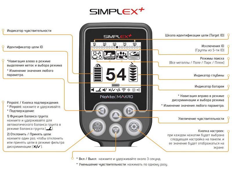 NOKTA MAKRO Simplex Plus +